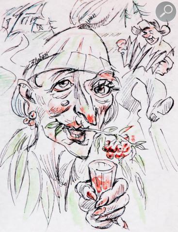 Вдова Рябинкина - наш ответ Вдове Клико.